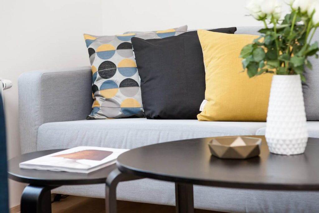 Poduszki nowoczesne we wzory