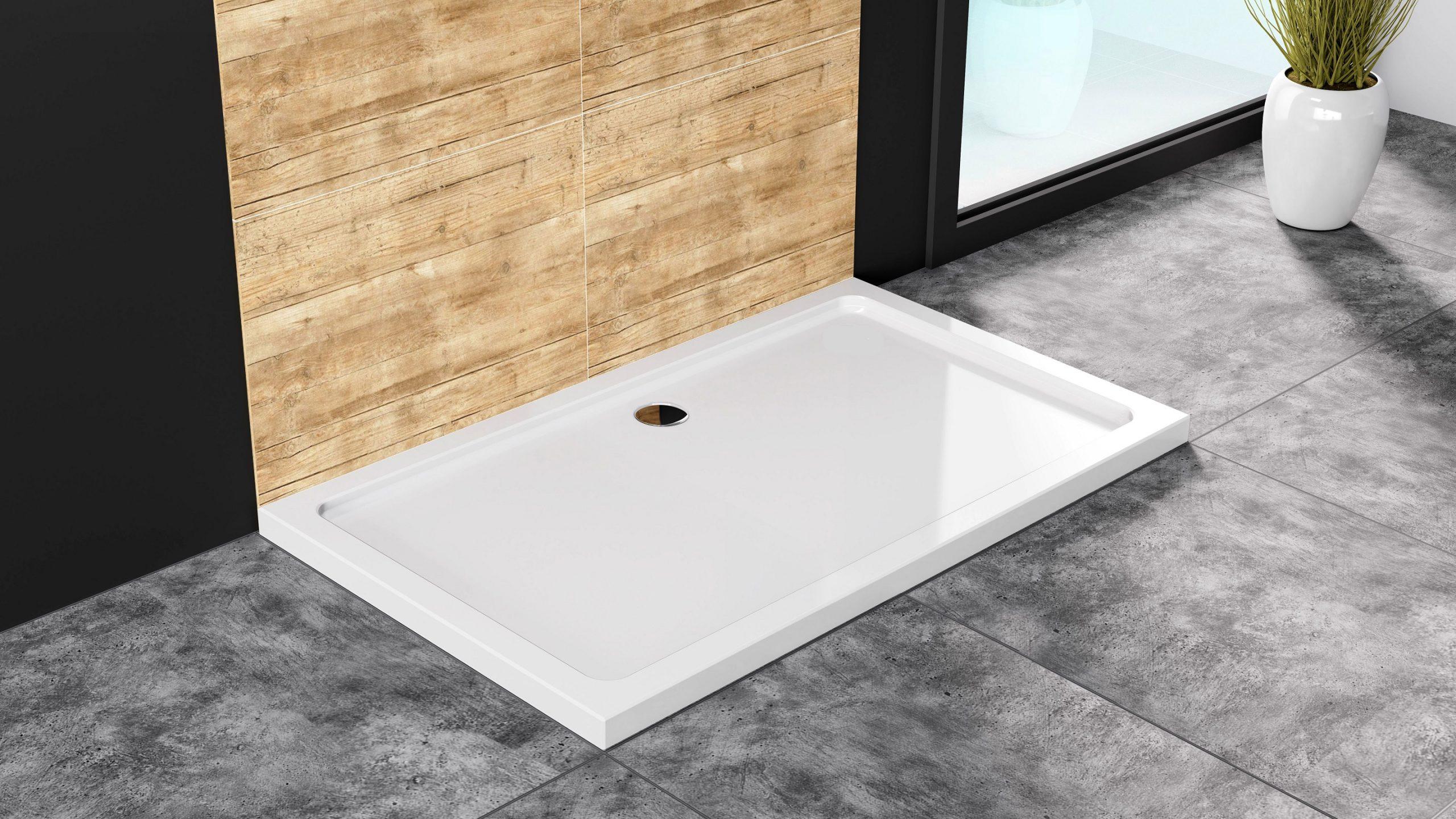 Płaski brodzik- element wyposażenia łazienki, który może znacznie ułatwić życie domowników